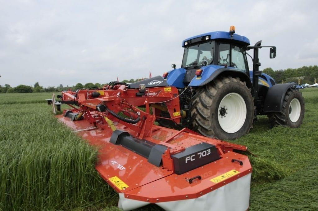Kuhn FC703 Mower Conditioner - Grassland at C&O Tractors