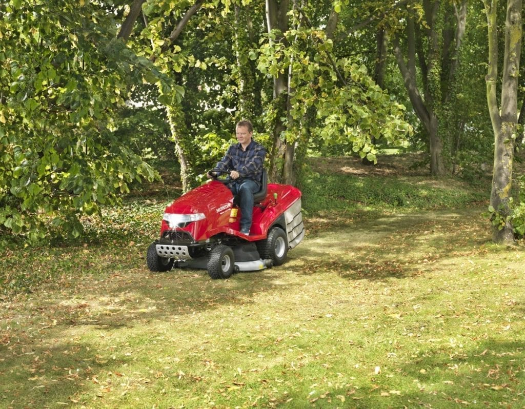 Honda Ride On Mowers at C&O Garden Machinery