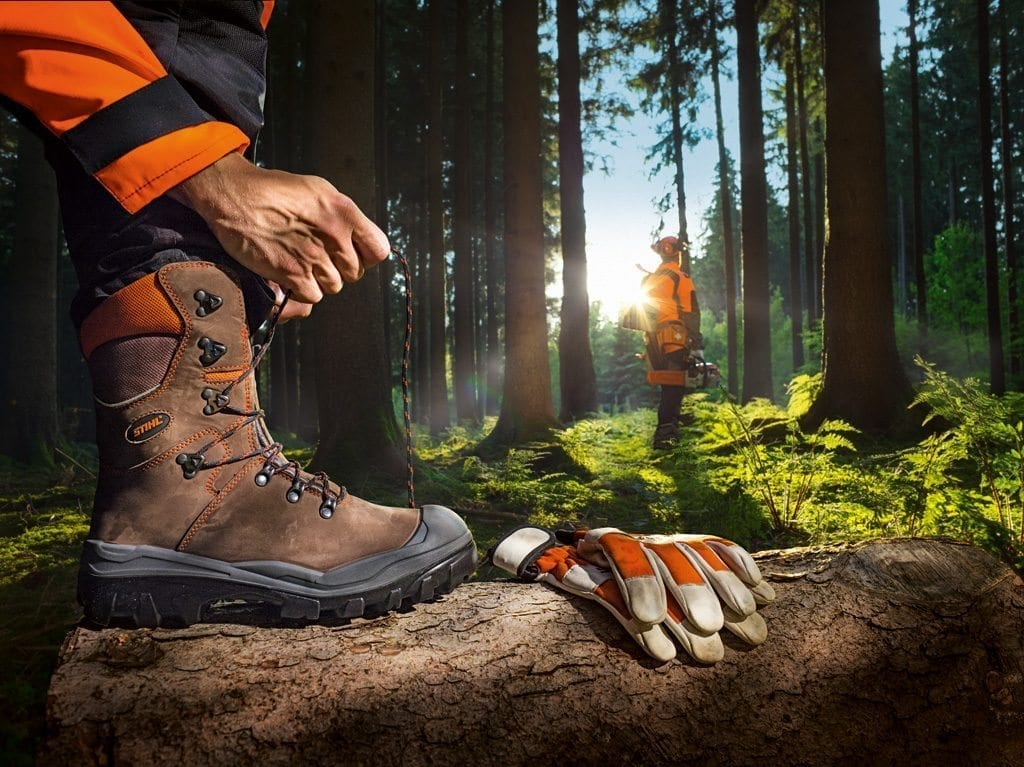 Stihl safety equipment and protective clothing at C&O Garden Machinery
