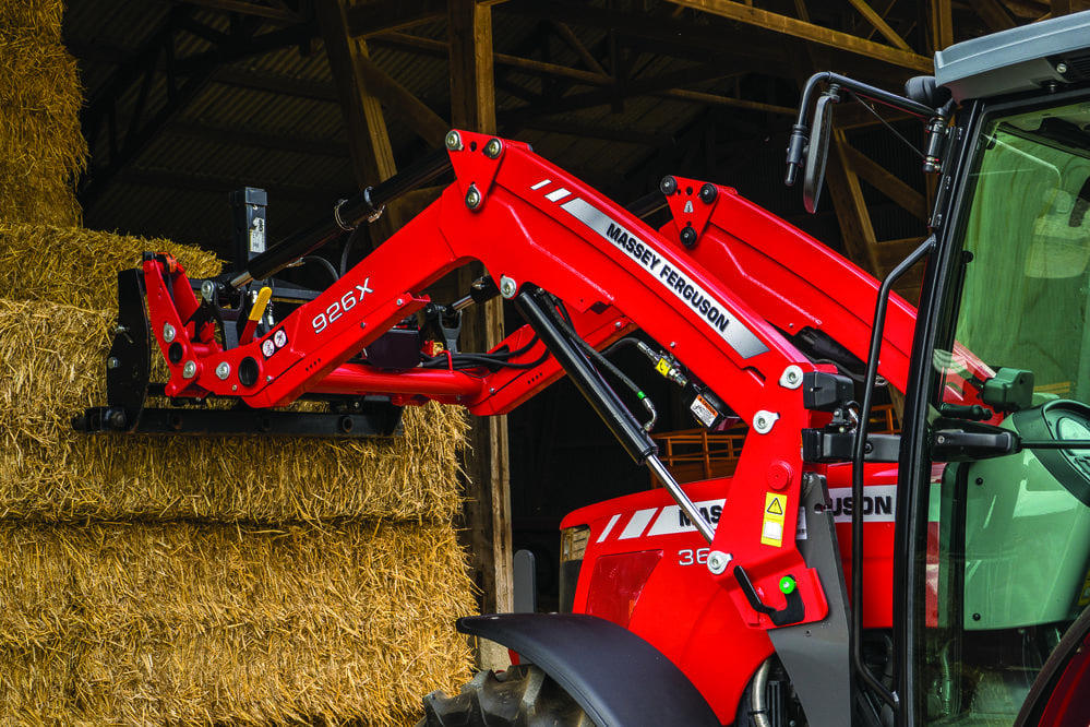 Massey Ferguson loaders at C&O Tractors