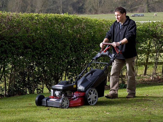 Massey Ferguson self propelled lawn mower