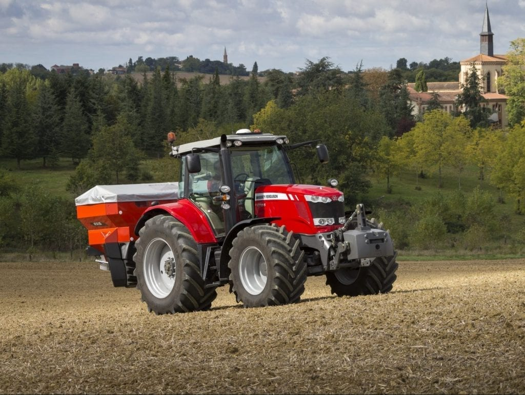 Fertliser spreaders at C&O Tractors