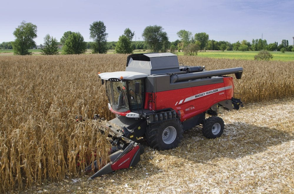 Massey Ferguson Beta Combines at C&O Tractors