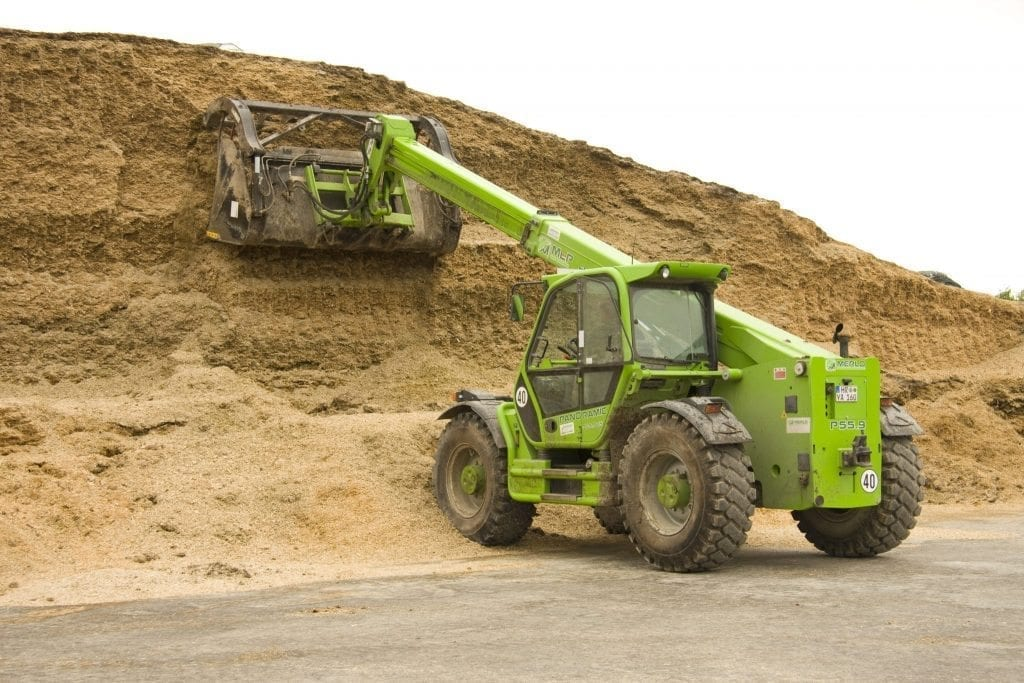 Merlo P55.9CS telehandler - C&O