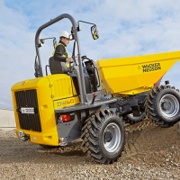 Dumpers at C&O Construction - Wacker Neuson DW60 dumper