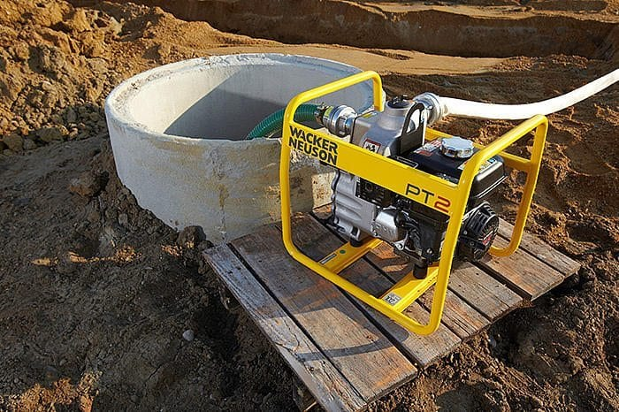 Wacker Neuson Light Equipment at C&O Construction - Wacker Neuson pumps