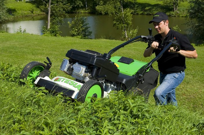 Etesia Mowers at C&O Garden Machinery