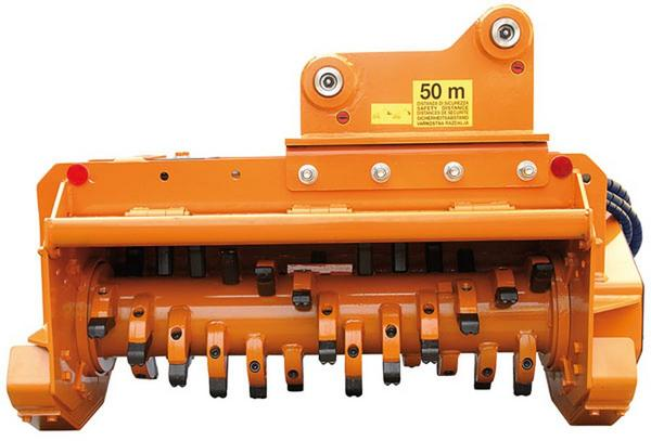 Timber & forestry equipment - Berti mulching head