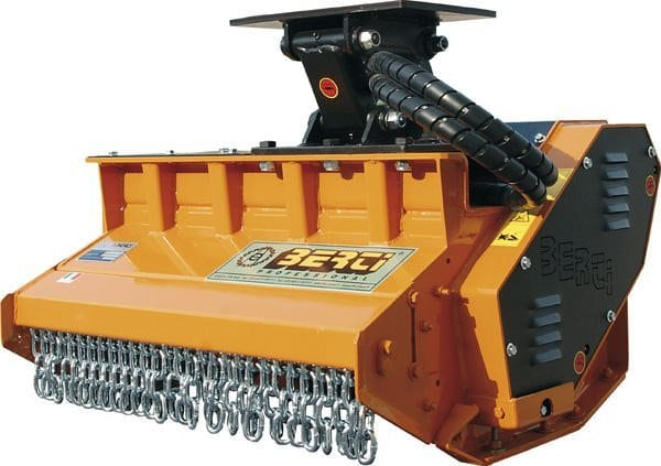 Berti mulching head - Attachments at C&O Construction