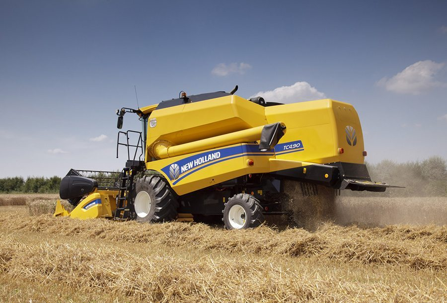 New Holland TC4.90 Combine Harvesters at C&O Tractors