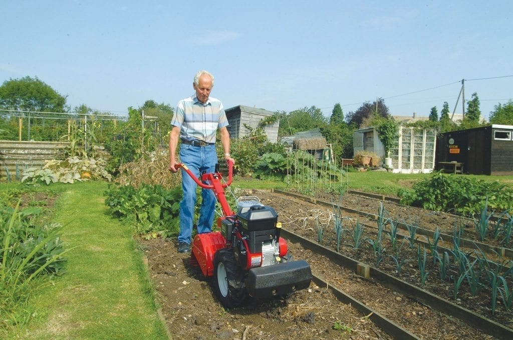 Garden Machinery Hire - Lawnflite tiller