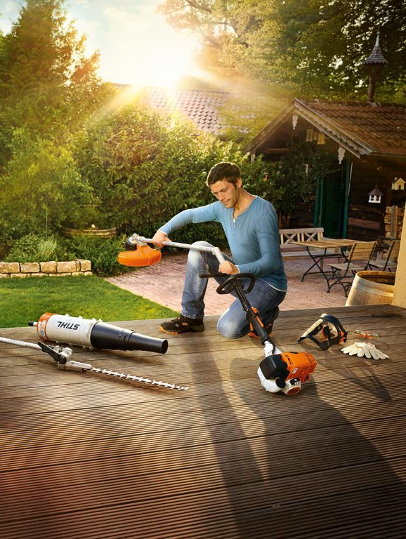 Combi toosl at C&O Garden Machinery - Stihl Kombi tool