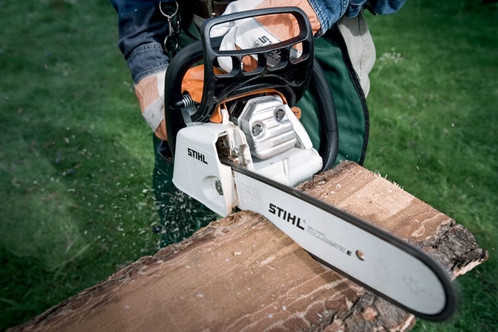 Timber & forestry equipment- Stihl chainsaw