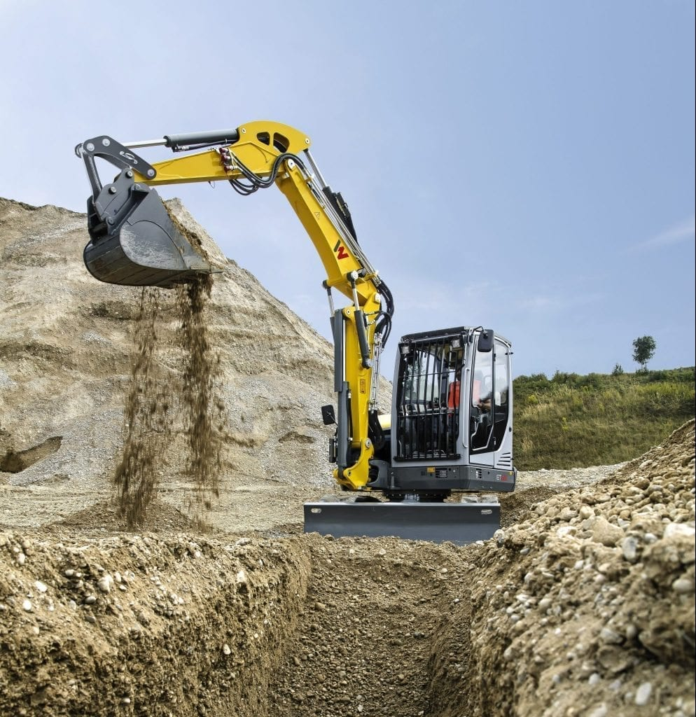 Excavators at C&O Construction - Wacker Neuson ET65