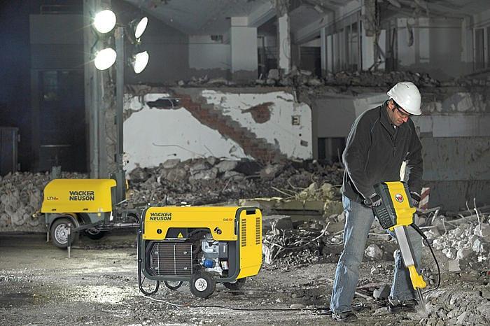 Wacker Neuson Light Equipment at C&O Construction - Wacker Neuson lighting