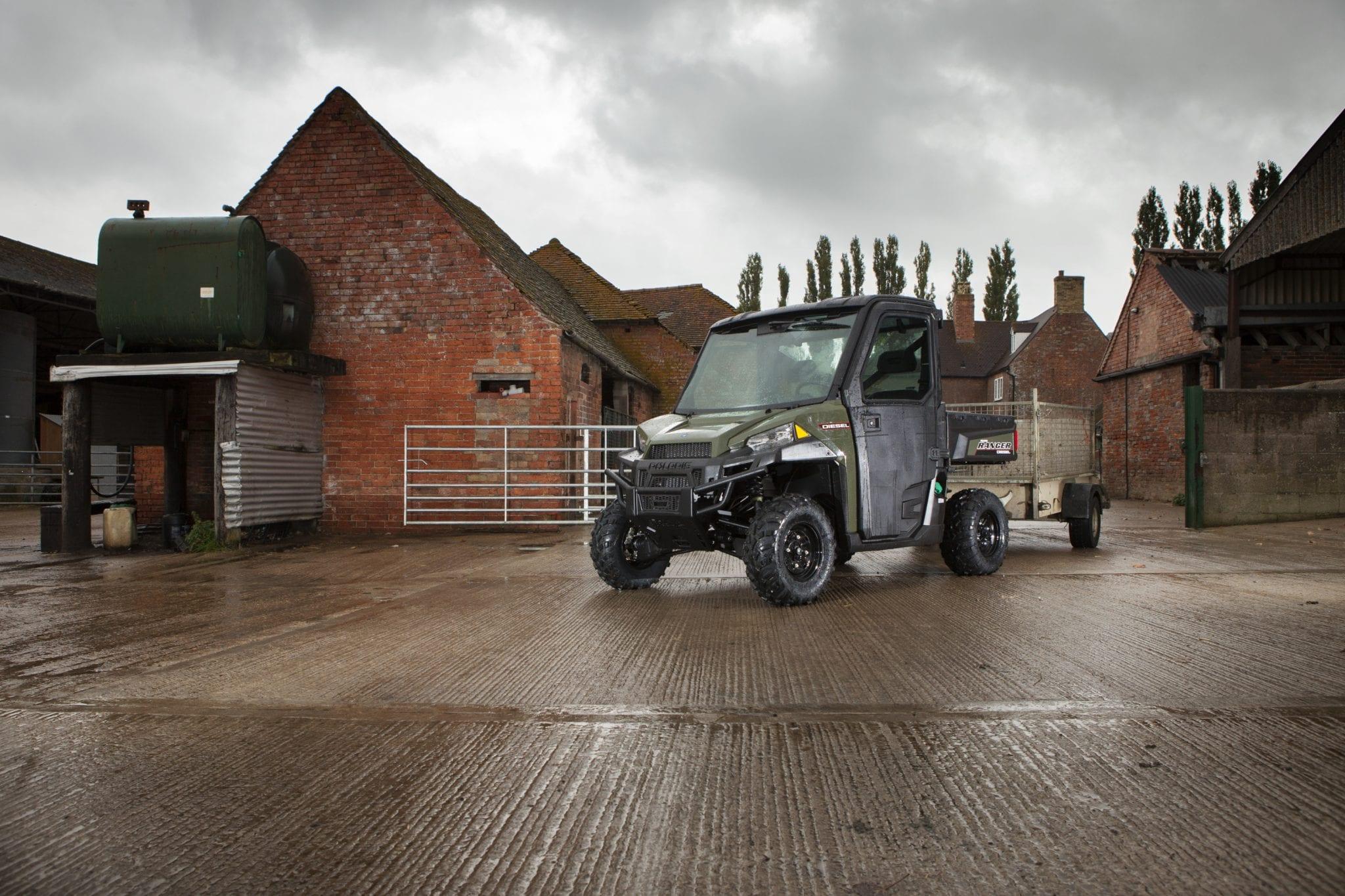 the new polaris ranger diesel 1000 c o tractors. Black Bedroom Furniture Sets. Home Design Ideas