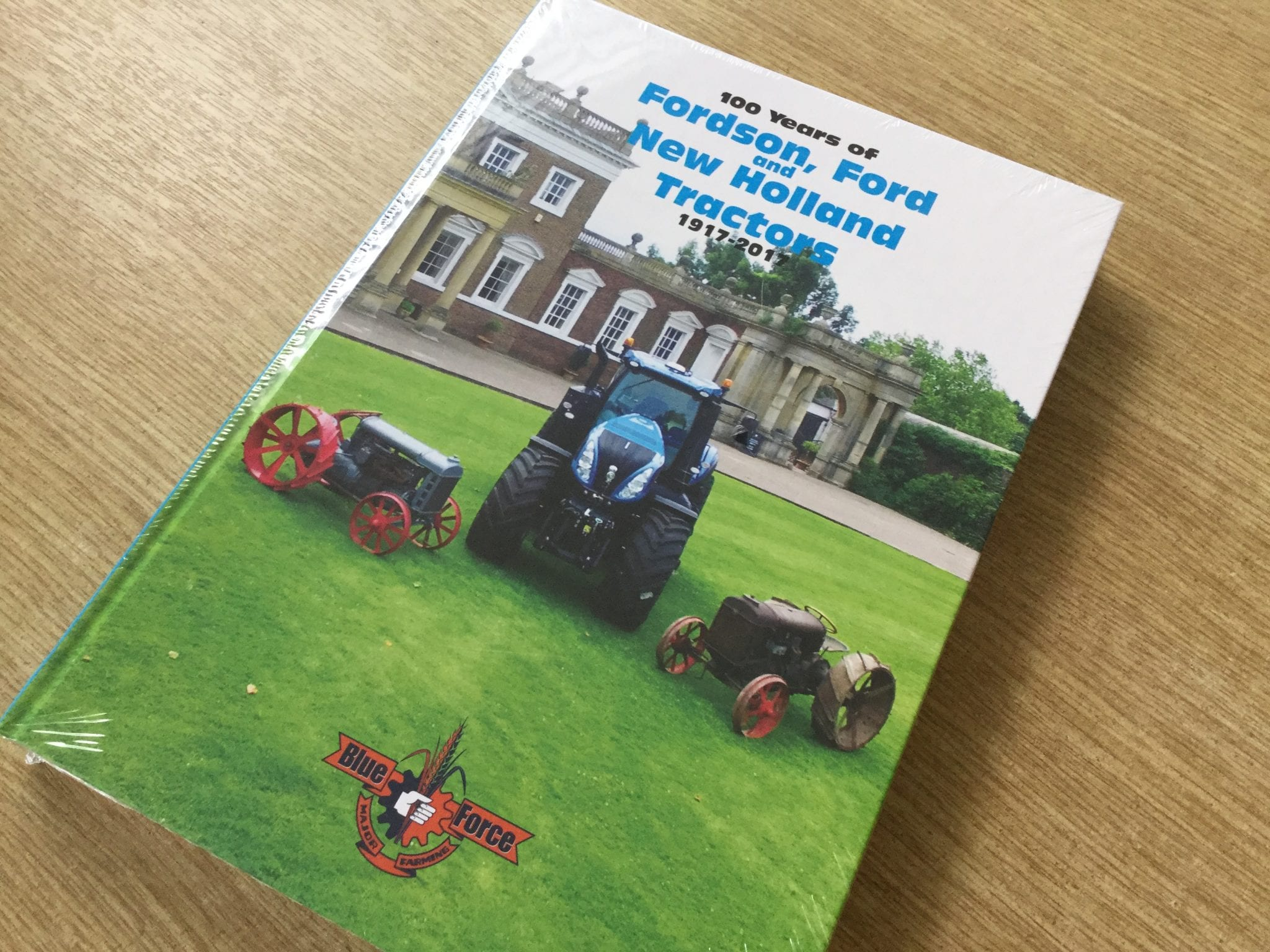 100 years of Fordson, Ford and New Holland book
