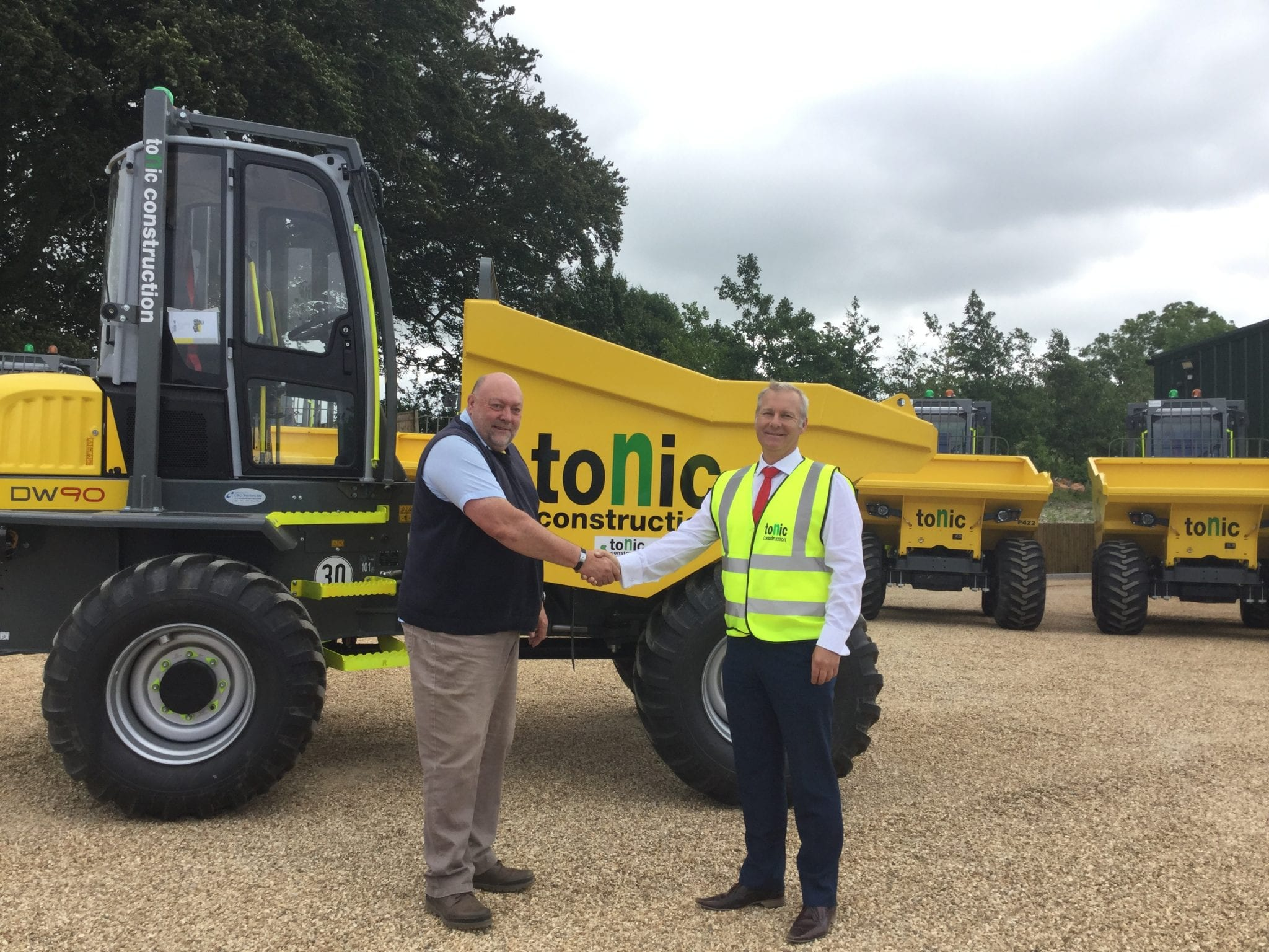 C&O Construction supply the safest dumpers in the UK