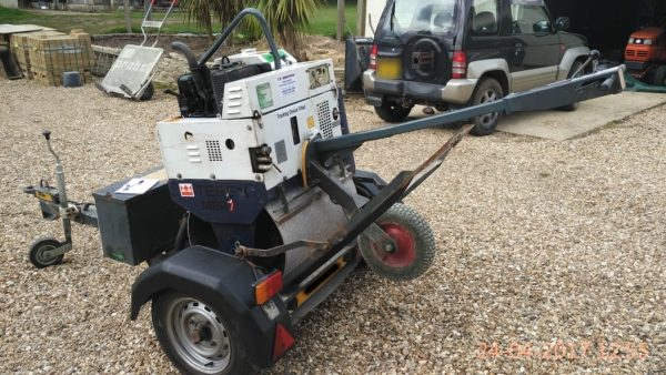 10061149 - Terex Roller and Trailer
