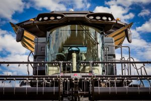 New IDEAL from Massey Ferguson Combine Harvesters - front