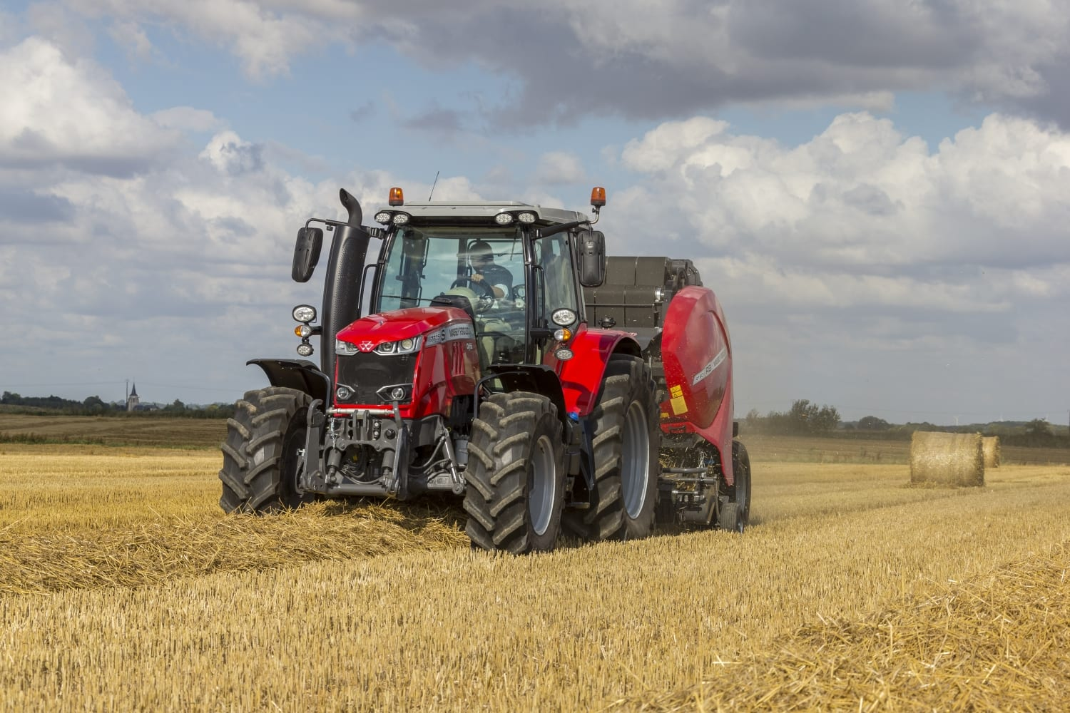 Massey Ferguson Combines : C o tractors are main dealers for massey ferguson