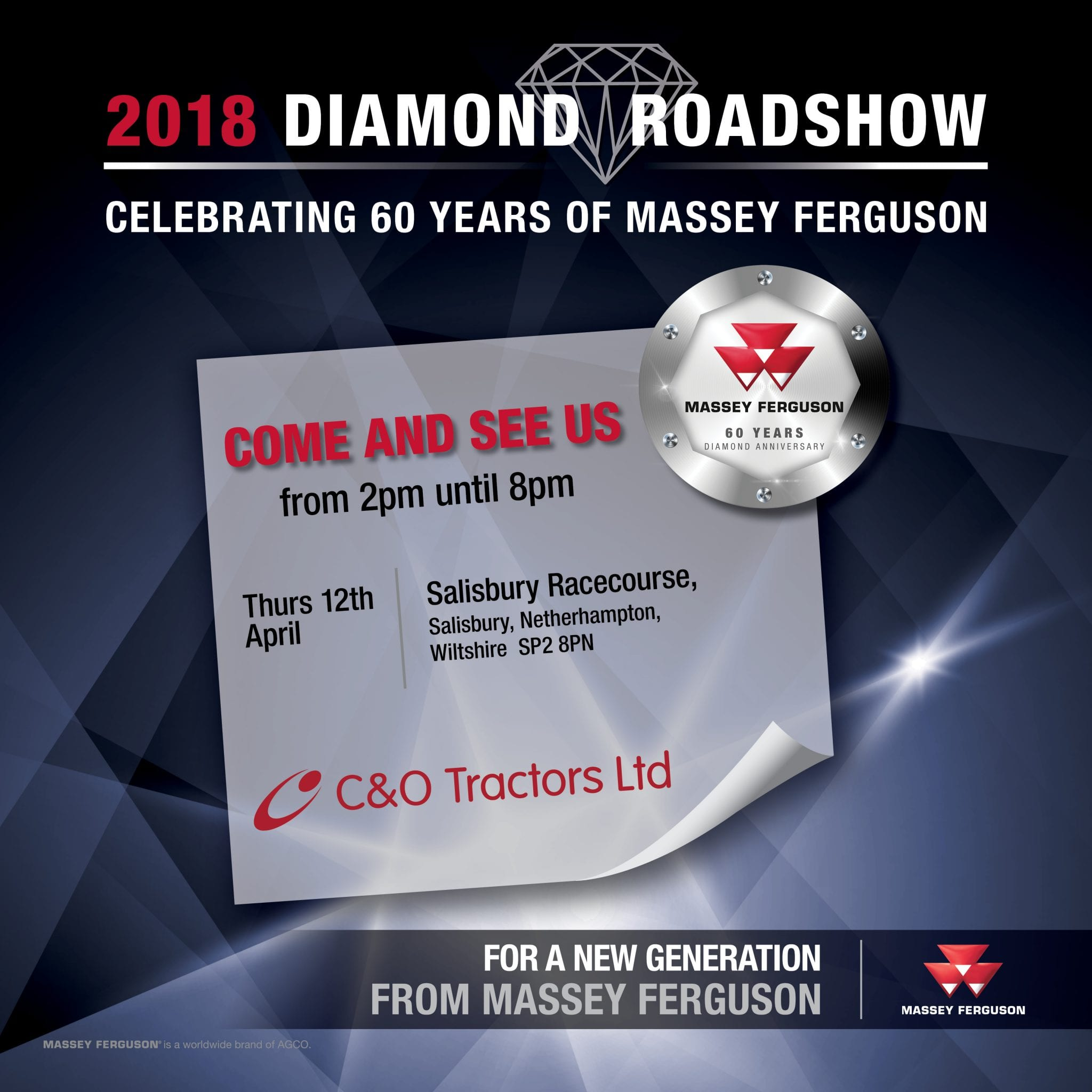 Massey Ferguson Diamond Roadshow