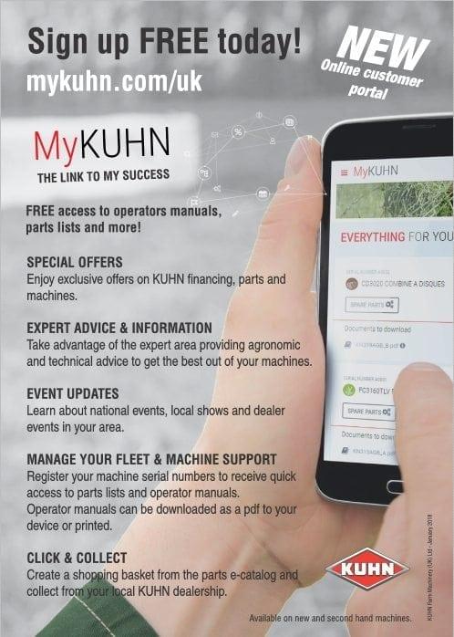 Kuhn launch new online customer portal