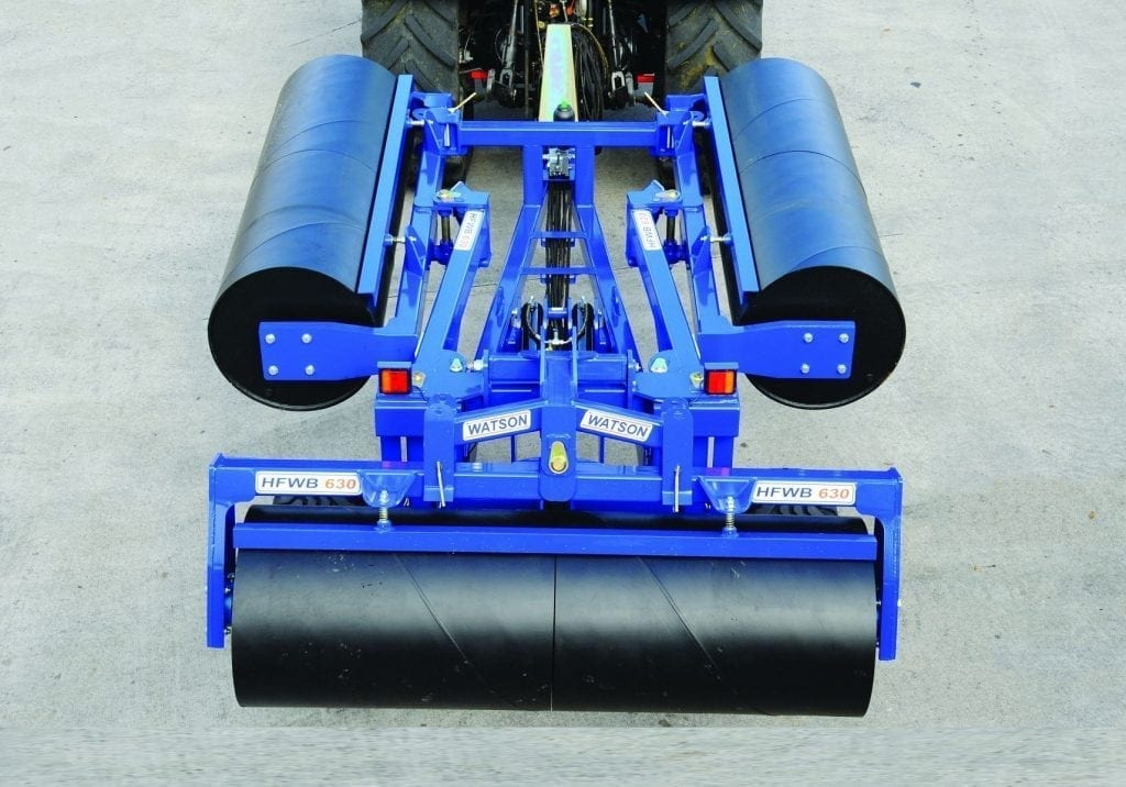 Watson agricultural rollers