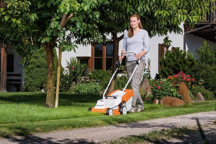 Stihl cordless mower