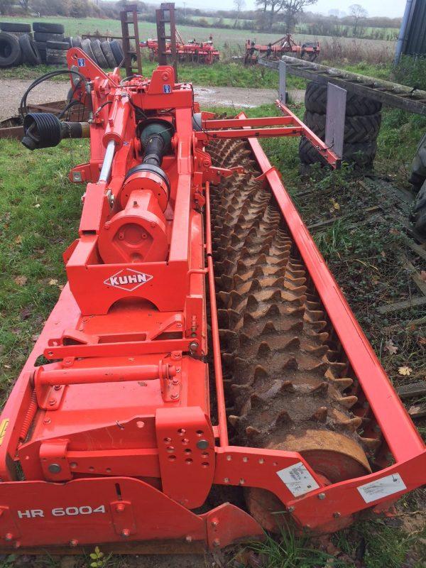 Kuhn 6m power harrow
