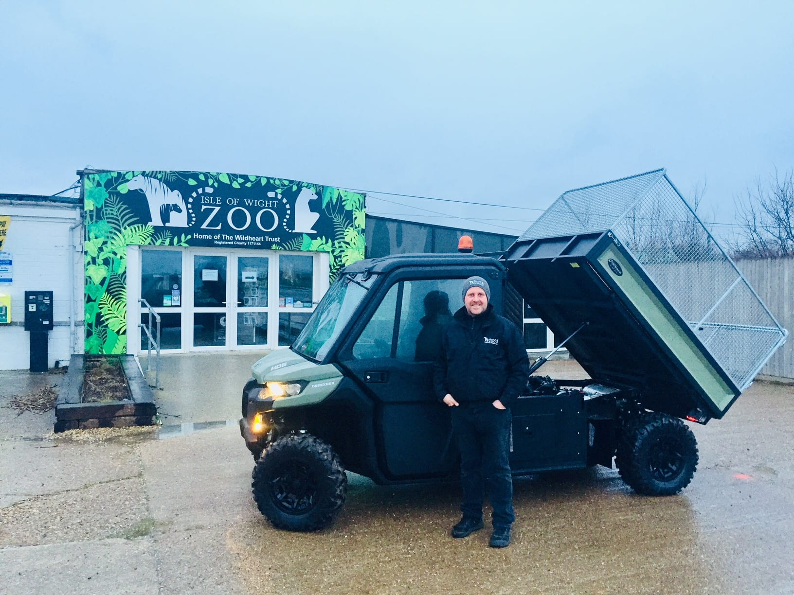 Can-Am to Isle of Wight Zoo