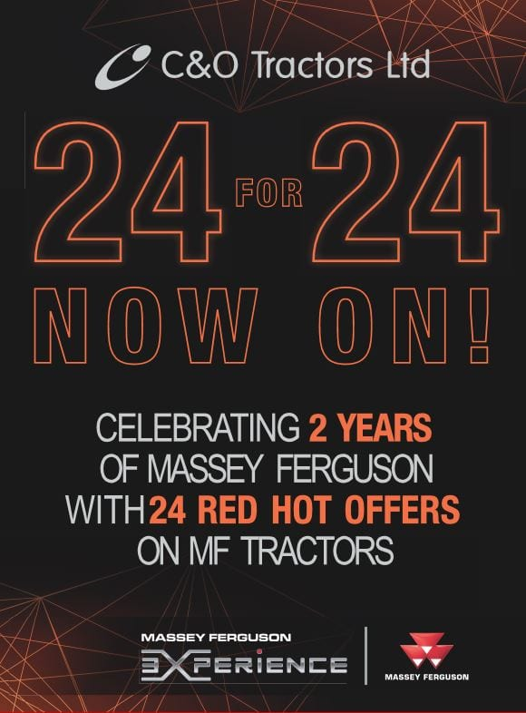 24 for 24 Special offers on Massey Ferguson tractors