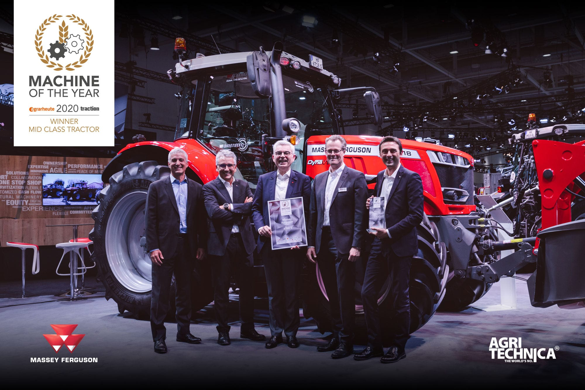 MF 6700 S awarded Machine of the Year 2020
