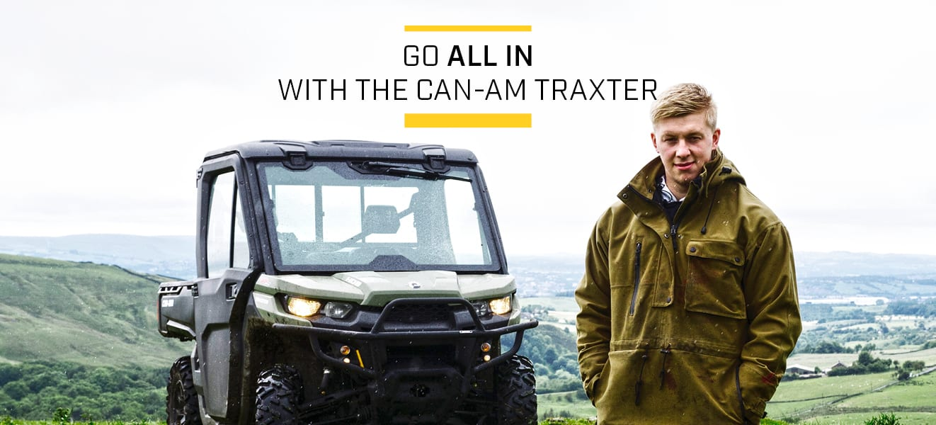 The Can-Am Traxter is all you need when it Can-Am Traxter All In Offer