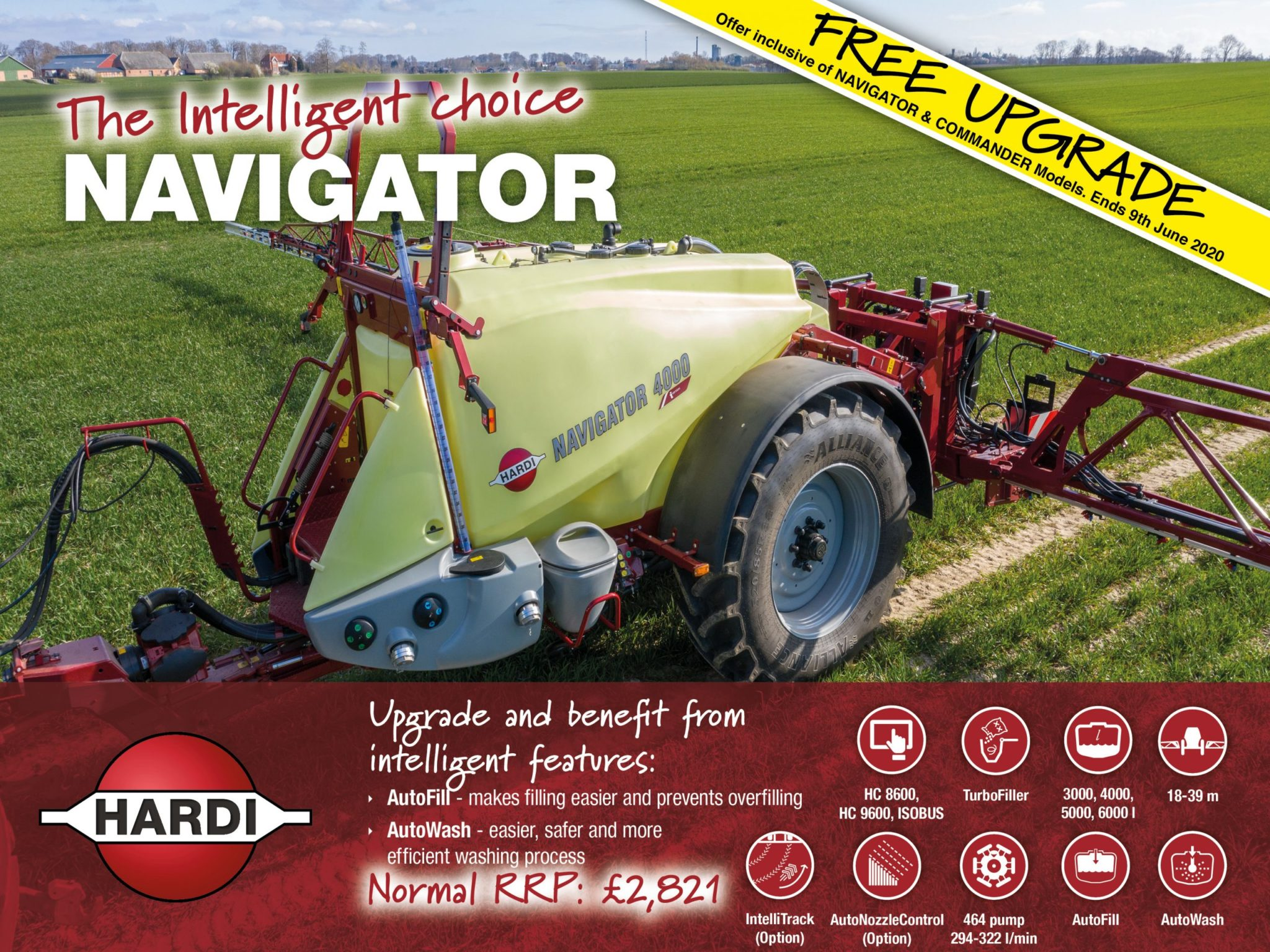 Hardi Navigator - Free Upgrade