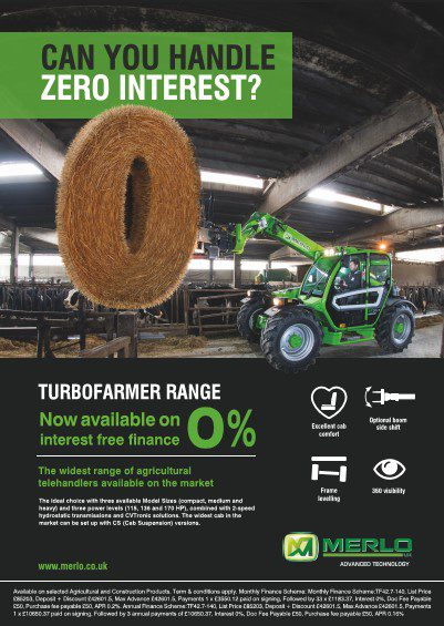 Merlo 0% finance offer