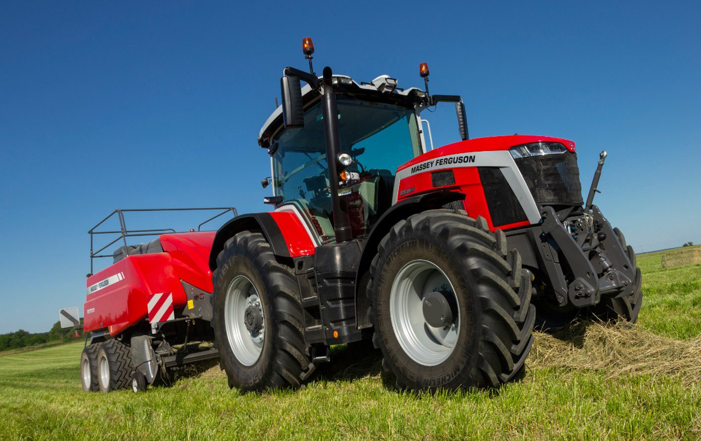 Tractors for hire - MF 8S